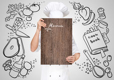 Menu template. Royalty Free Stock Photos