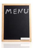 Menu title Royalty Free Stock Photography