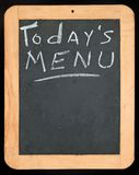 menu today szyldowy Fotografia Stock