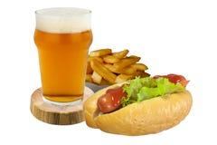 Menu van snelle voedingsmiddelen Royalty-vrije Stock Afbeeldingen