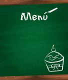 Menu vector Stock Photos