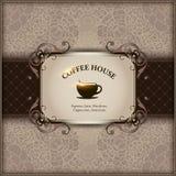 Menu voor restaurant, koffie, staaf, coffeehouse Stock Afbeeldingen