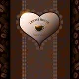 Menu voor restaurant, koffie, staaf, coffeehouse Royalty-vrije Stock Foto's