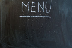 Menu Royalty Free Stock Photos