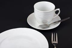 menue kawowy set Zdjęcia Stock