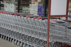 MENY食物链市场 免版税库存照片