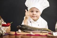 Meny av fisken Royaltyfri Fotografi