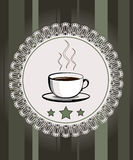 Meny för restaurangen, cafe, stång, kafé Royaltyfri Fotografi