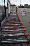 MENY-NAHRUNGSKETTE-MARKT Lizenzfreies Stockfoto