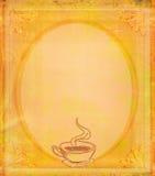 Menycoffee shop vektor illustrationer