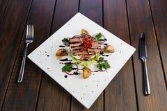 Menyer för restauranger och kaféer arkivbilder