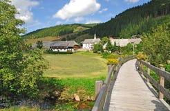Menzenschwand, Schwarzwald, floresta preta, Alemanha Imagens de Stock Royalty Free