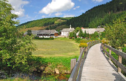 Menzenschwand, Schwarzwald, foresta nera, Germania Immagini Stock Libere da Diritti
