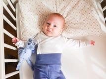 Menzogne del neonato Fotografia Stock Libera da Diritti
