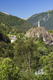 Meolans-goda (alpi francesi) Immagini Stock Libere da Diritti