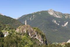 Meolans-Revel (French Alps) Royalty Free Stock Image