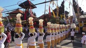 Mepeed是传统在巴厘岛 影视素材