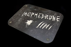 Mephedrone drug Stock Photo