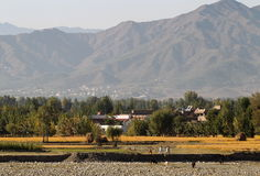 Mepvallei, Noordelijk Pakistan Royalty-vrije Stock Afbeelding