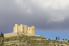 Mequinenza castle Stock Photography