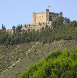 Mequinenza Castle - Spain Royalty Free Stock Photography