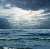 Mer à l'hiver Photographie stock libre de droits