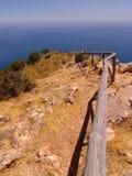 mer à la voie Images stock