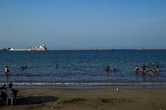 Mer à Veracruz photo stock