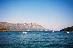 Mer Adriatique, Budva Photos libres de droits
