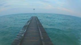Mer Adriatique de l'Italie banque de vidéos