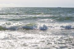 Mer agitée Photos stock