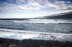 Mer agitée Image stock