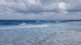 Mer agitée Photo stock