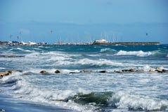 mer agitée Photographie stock libre de droits