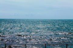 Mer agitée Image libre de droits