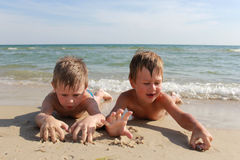 Mer Amis maritimes Photographie stock libre de droits