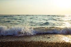 Mer au coucher du soleil photo libre de droits