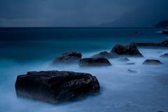 Mer avant tempête Images libres de droits