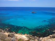 Mer azurée Photo libre de droits