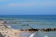 Mer baltique Image libre de droits