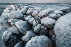 Mer baltique en hiver Image stock