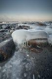 Mer baltique en hiver Images stock