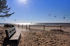 Mer baltique, Jurmala, Lettonie Image libre de droits