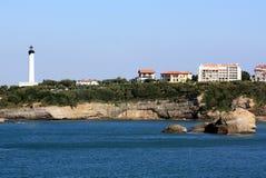 Mer Basque Photographie stock libre de droits