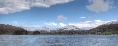 mer berg Arkivbild