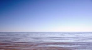 Mer bleue Photo libre de droits