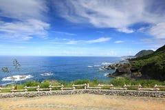 mer bleue Photos libres de droits