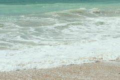 Mer bleue - plage Photo libre de droits