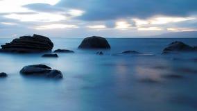 mer brumeuse Photographie stock libre de droits