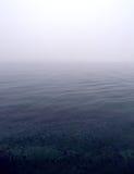 mer brumeuse de scène Image libre de droits
